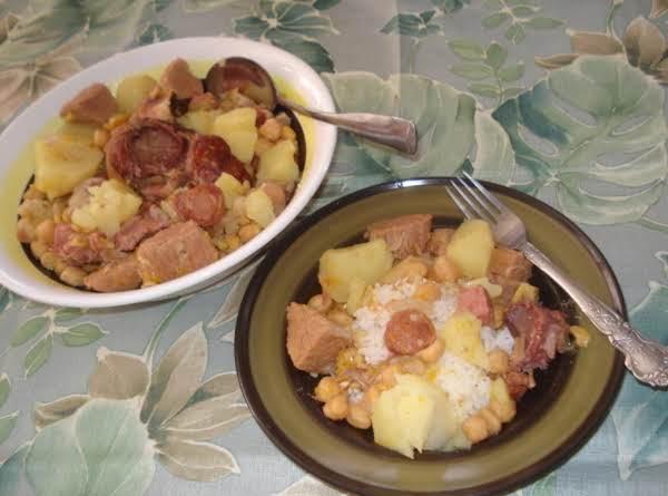 Chick Pea Pottage, Mimas (potaje De Garbanzos) Recipe