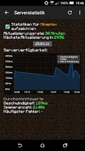 Server Info Minecraft Apps Bei Google Play - Minecraft spieler statistik