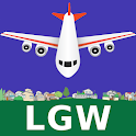 FLIGHTS: London Gatwick Airport icon