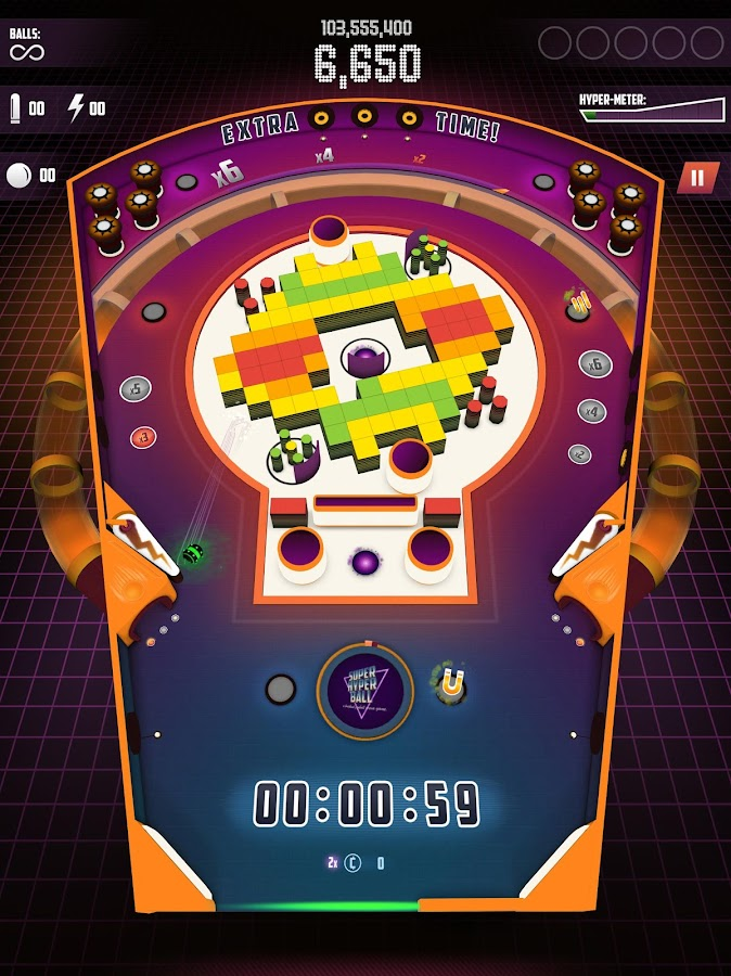 Super Hyper Ball 2- screenshot