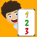 Counting to 100 for kids icon