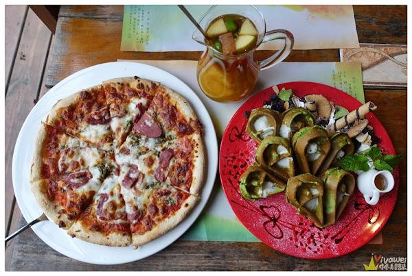 山那邊.綠葉方舟(苗栗三義)-寬敞舒適的森林系景觀餐廳-有排餐,下午茶和蔬食料理!