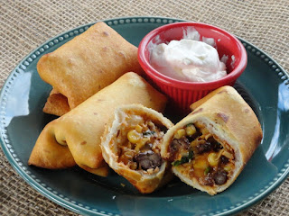 Southwestern Eggrolls (for A Crowd) Recipe