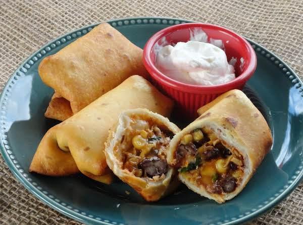 Southwestern Eggrolls (for A Crowd) Recipe