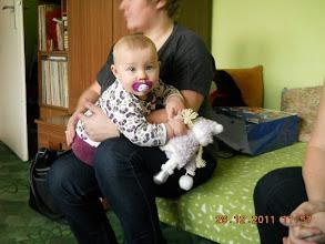 Photo: 29 XII 2011 roku  -  lalka Jej się spodobała...............