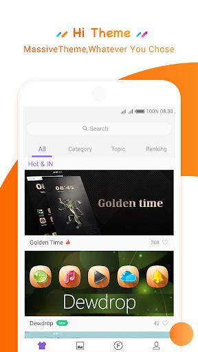 HiOS Launcher - 2018Wallpaper, Theme, Cool,Smart 3.0.039.2 Screenshots 3