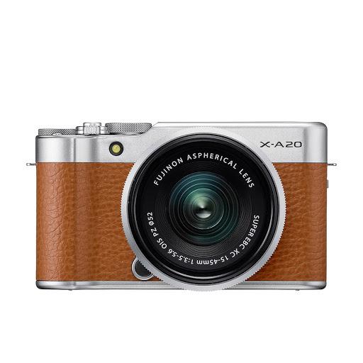 Fujifilm X-A20 15-45mm II Kit_Brown_1.jpg