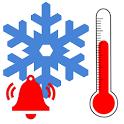 Temperature Alarm Alert icon