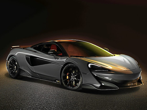 The 600LT will be the fourth Longtail model from McLarenPicture: NEWSPRESS UK