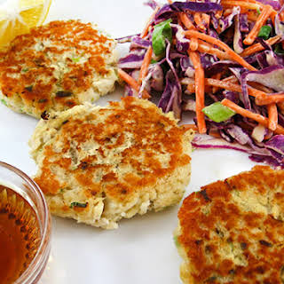 Skinny Fish & Chips Cakes.