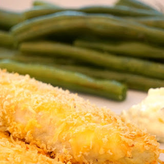 Oven Fried Fish.