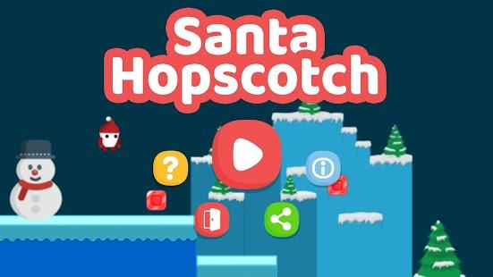 Santa Hopscotch - náhled