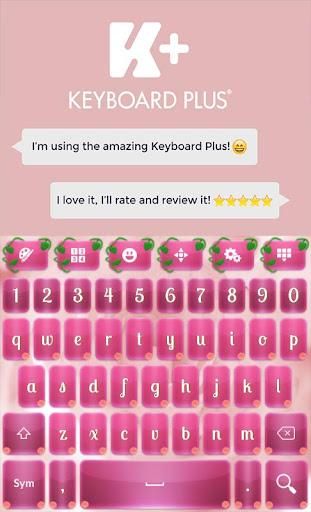 Pink Flowers Keyboard