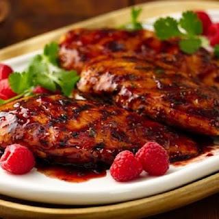 Pressure Cooker Chicken Breasts with Raspberry Vinegar