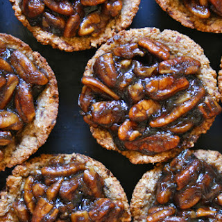 Mini Vegan Pecan Pies