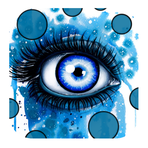 Eyes Live Wallpaper LOGO-APP點子