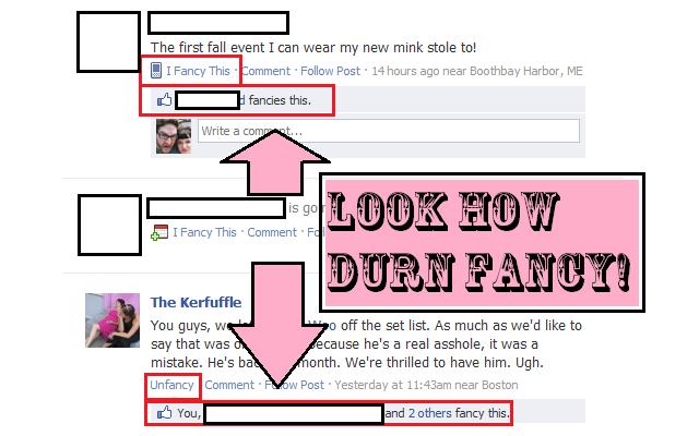 I Fancy Facebook