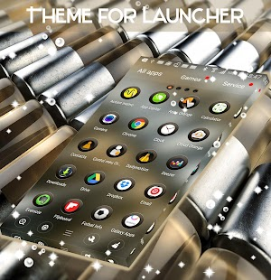 Theme for Launcher - náhled