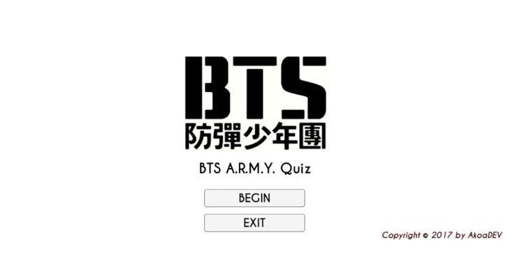 BTS ARMY Fan Quiz