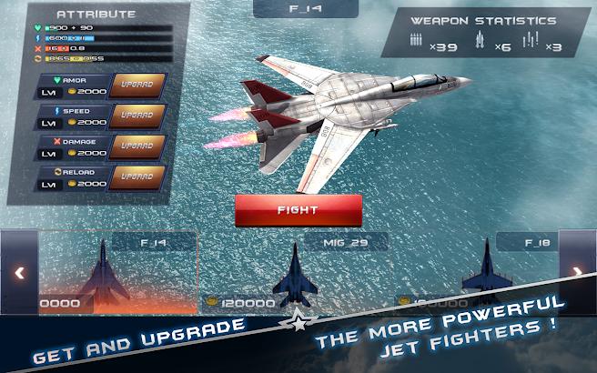 Morden Air Combat(3D) screenshot