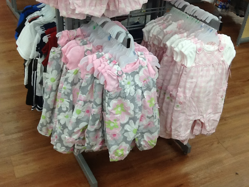 Photo: Look at these cute little Carter's overall sets!  I grabbed one in 0-3 months.