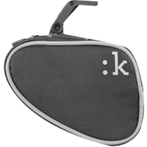 Fizik Saddle Bag with ICS Clip Med Anthracite