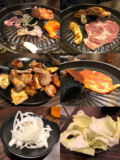 豬隊友......😞😞😞  姐長這麼大才驚覺原來吃美食.......慎選隊友也是很重要的!😰😰😰  姐只想吃牛,她拿了一堆阿思八勒肉......😰😰😰  #咚豬咚豬   #韓國烤肉