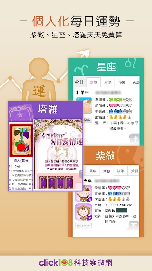 科技紫微網 - 愛情・星座・紫微運勢免費算 - Android Apps on Google Play