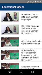 Study in Germany- screenshot thumbnail