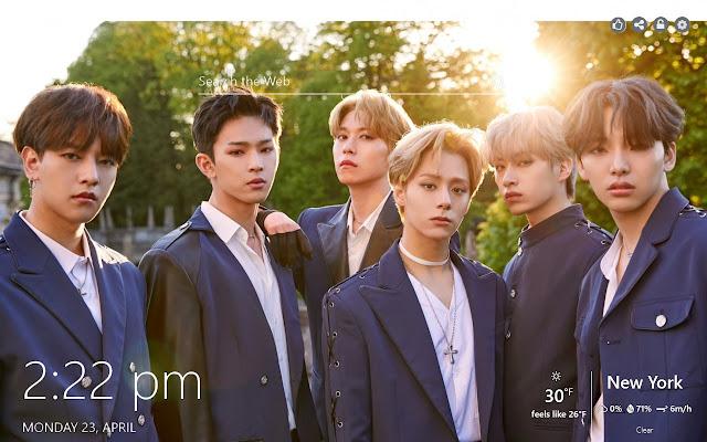 ONEUS HD Wallpaper K-Pop Music New Tab Theme