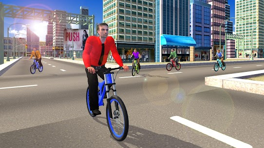BMX BiCycle Rider: cycle Racing Games 2020 9
