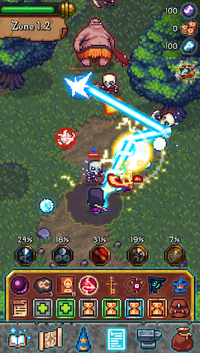 Tap Wizard: Idle Magic Quest 3.1.2 screenshots 1
