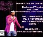 Radio Raps : 1 November : Rockwood Theatre, Pretoria : Rockwood Theatre