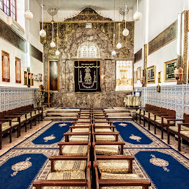 Inside the Synagogue by Richard Michael Lingo - Buildings & Architecture Places of Worship