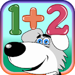 Addition and digits for kids icon