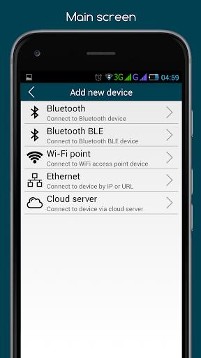 RemoteXY: Arduino control screenshot 3