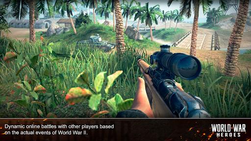 World War Heroes: WW2 FPS Shooting games! 1.6.3 screenshots 13
