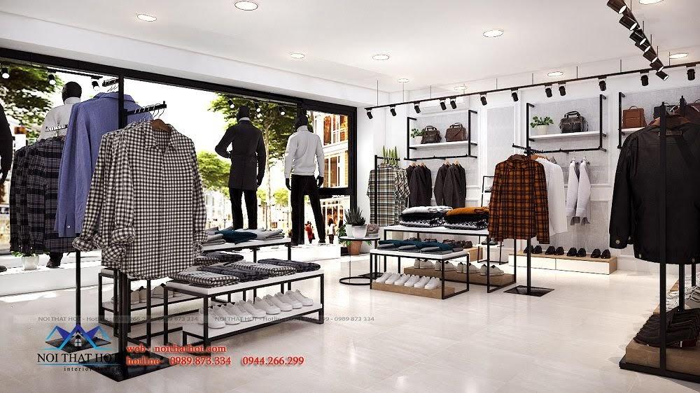 thiết kế shop thời trang đẳng cấp