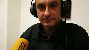 Isra Polo en el Carrusel Deportivo.