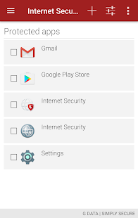 G DATA INTERNET SECURITY - náhled