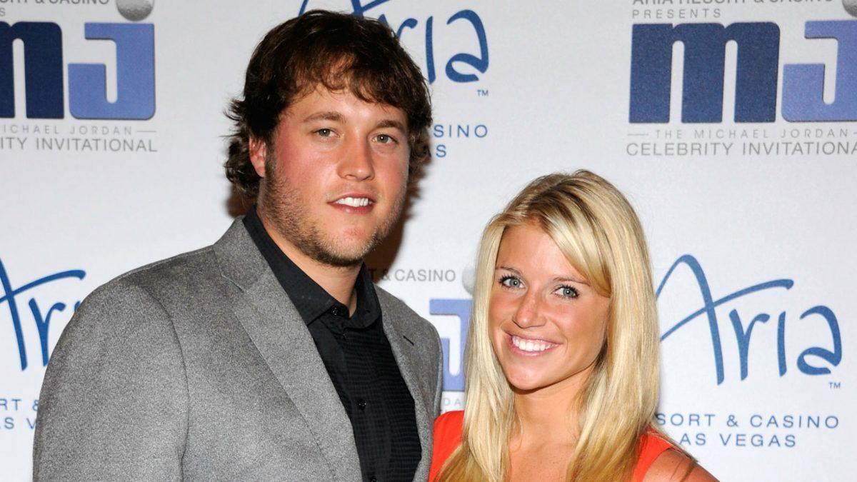Kelly Stafford, wife of Lions' Matthew Stafford, calls ...