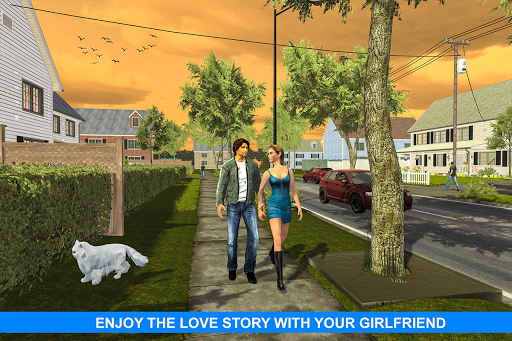 Virtual Girlfriend: Real Life love Story Sim apktram screenshots 8