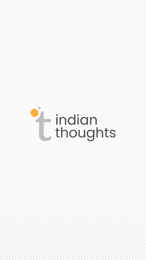 Indian Thoughts- screenshot