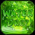 Water Drop Leaf Keyboard Theme APK