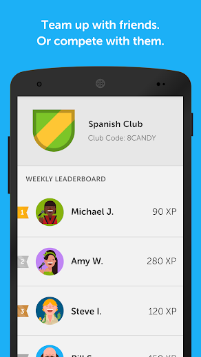 Screenshot 4 for Duolingo's Android app'