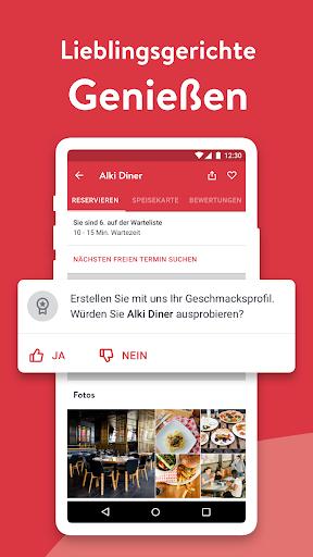 OpenTable - Online Reservieren screenshot 3