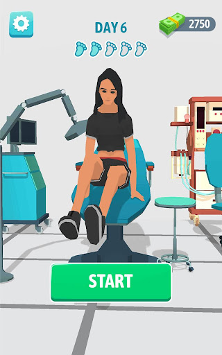Foot Clinic - ASMR Feet Care 1.1.2 screenshots 17
