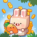 Idle Carrot farm ( bunny carrot factory tycoon ) icon