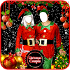 Couple Christmas Photo Suit