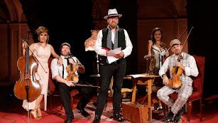 Un momento del concierto del cuarteto de cuerda de la OCAL.